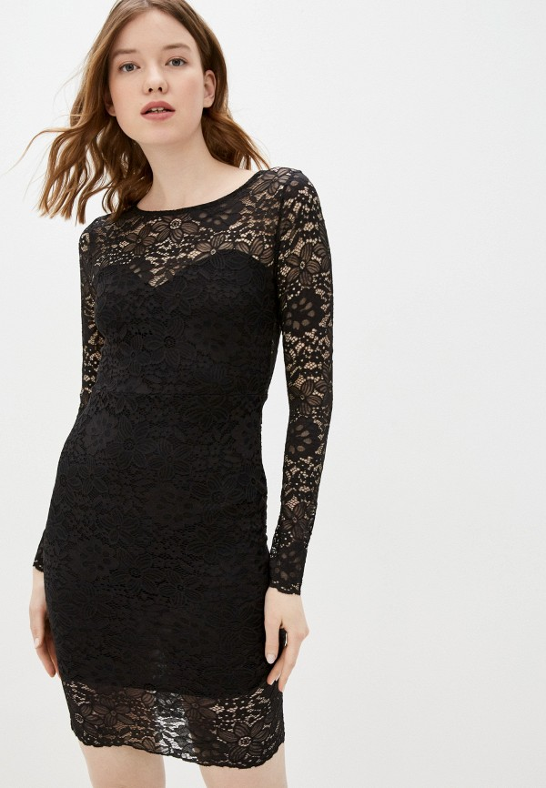 женское вечерние платье haily's, черное