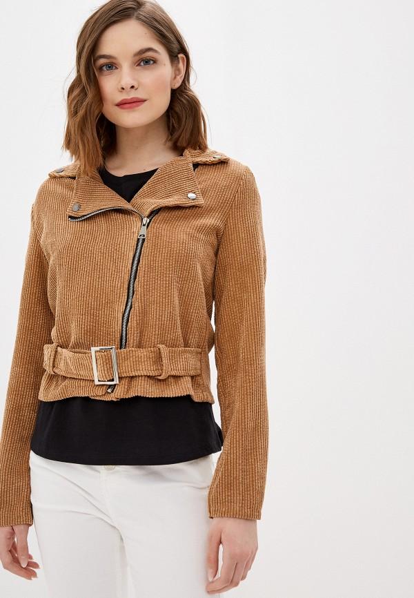 женская куртка haily's, коричневая