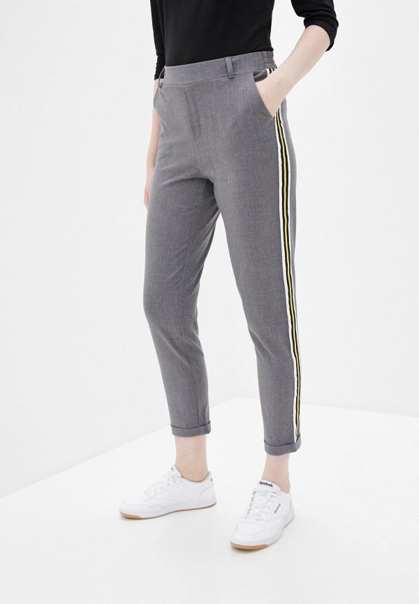 женские повседневные брюки haily's, серые