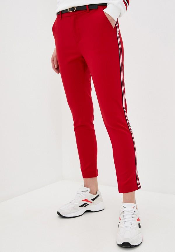 женские повседневные брюки haily's, красные