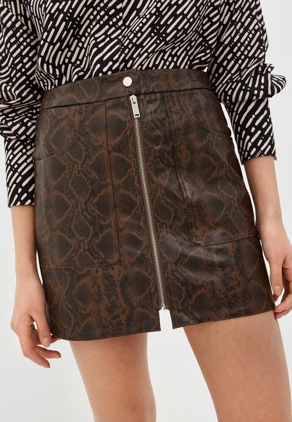 женская юбка haily's, коричневая
