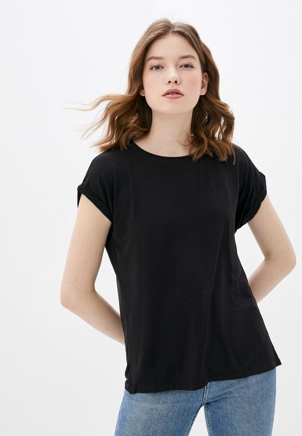 женская футболка haily's, черная