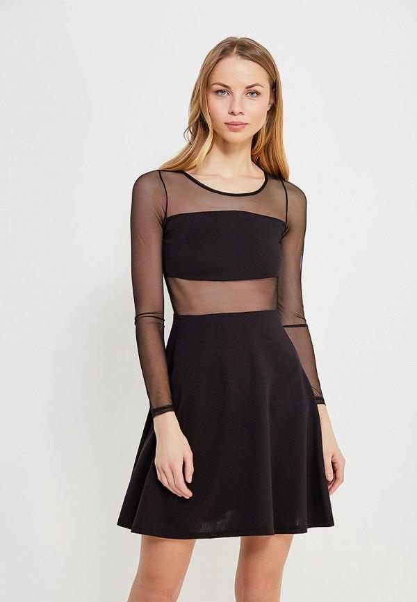 Платье Haily's, ha022ewzuz37, черный, Осень-зима 2017/2018  - купить со скидкой