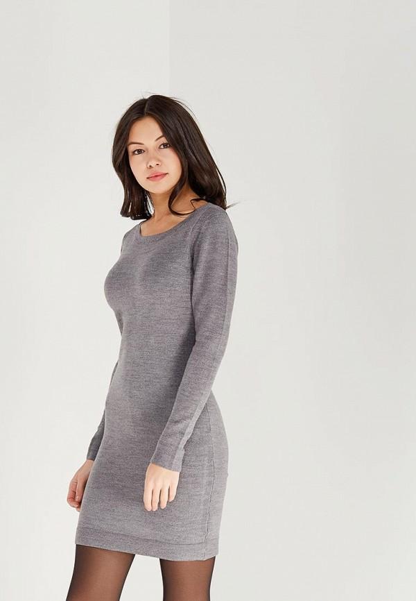 Купить Платье Haily's, ha022ewzuz40, серый, Осень-зима 2018/2019