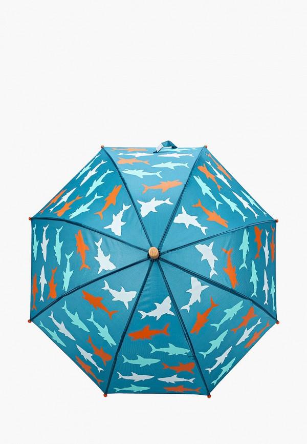 складные зонт hatley для мальчика, бирюзовый