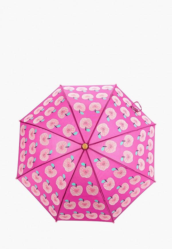 зонт hatley для девочки, бордовый