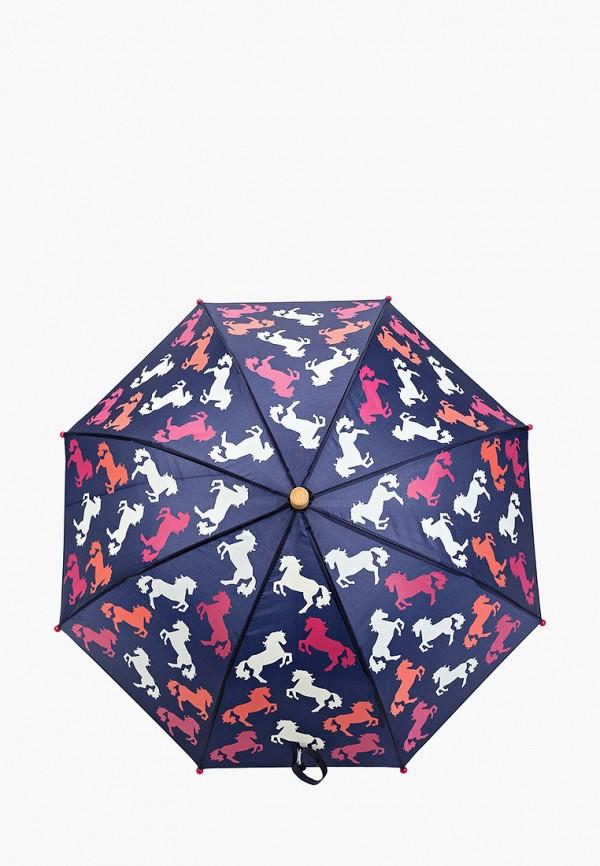 зонт hatley для девочки, синий
