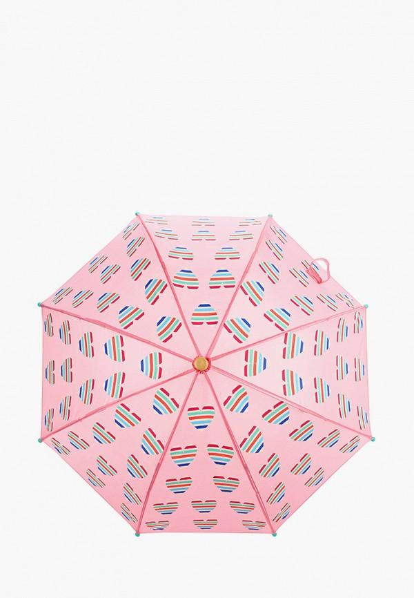 зонт hatley для девочки, розовый