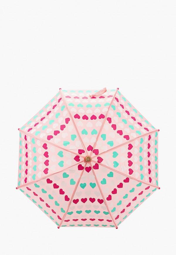зонт-трости hatley для девочки, розовый