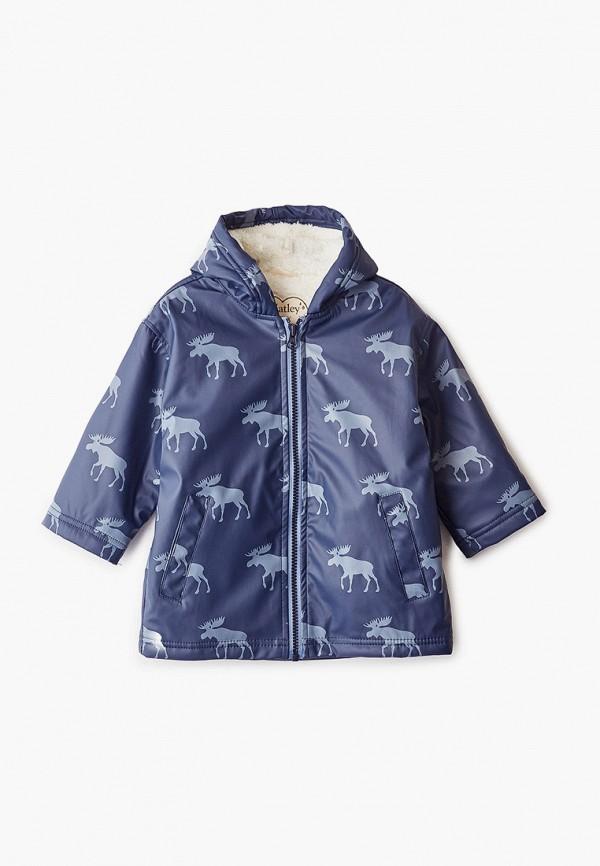 куртка hatley для мальчика, синяя