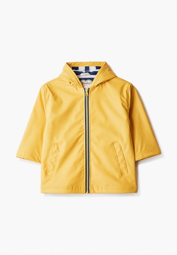 куртка hatley для мальчика, желтая
