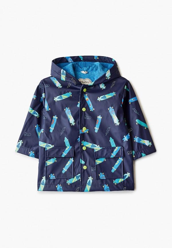 легкие куртка hatley для мальчика, синяя