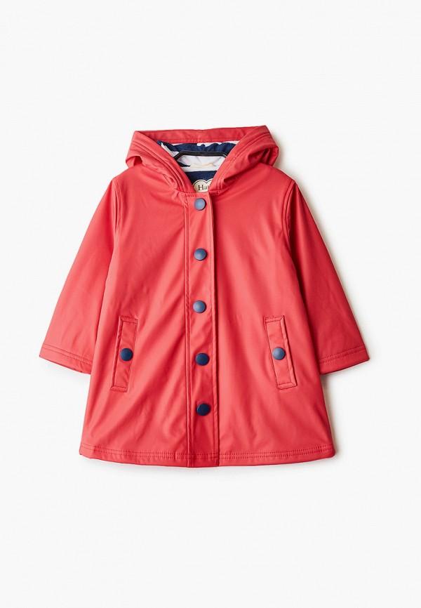 легкие куртка hatley для девочки, красная