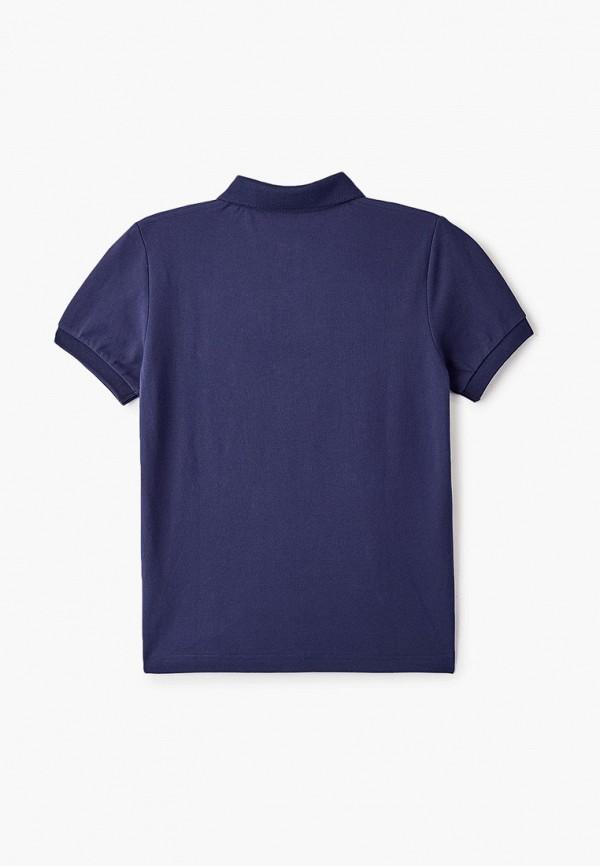 Фото 2 - Футболку или поло для мальчика Hackett London синего цвета
