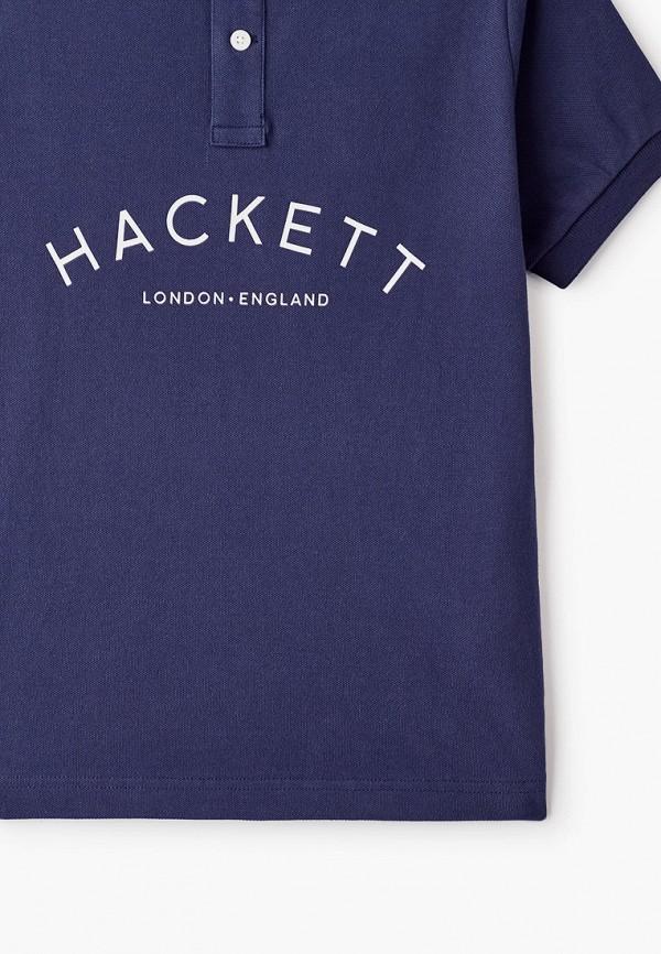 Фото 3 - Футболку или поло для мальчика Hackett London синего цвета