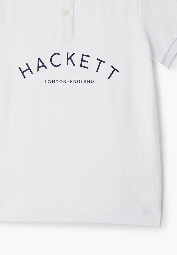 Фото 3 - Футболку или поло для мальчика Hackett London белого цвета