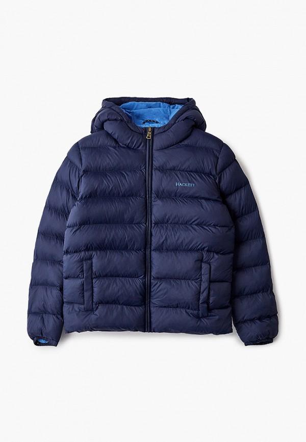 куртка hackett london для мальчика, синяя