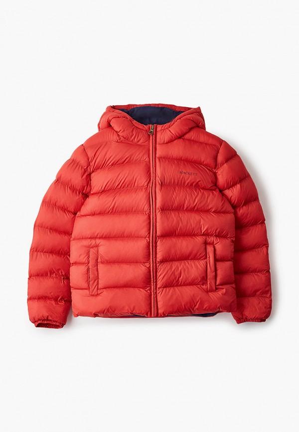 куртка hackett london для мальчика, красная