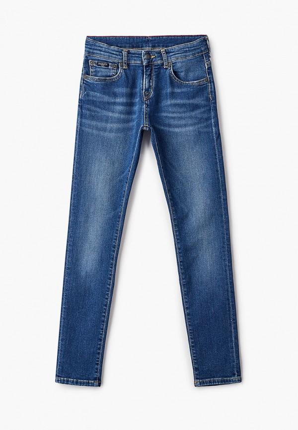 джинсы hackett london для мальчика, синие
