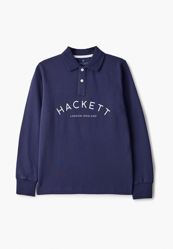 поло hackett london для мальчика, синее