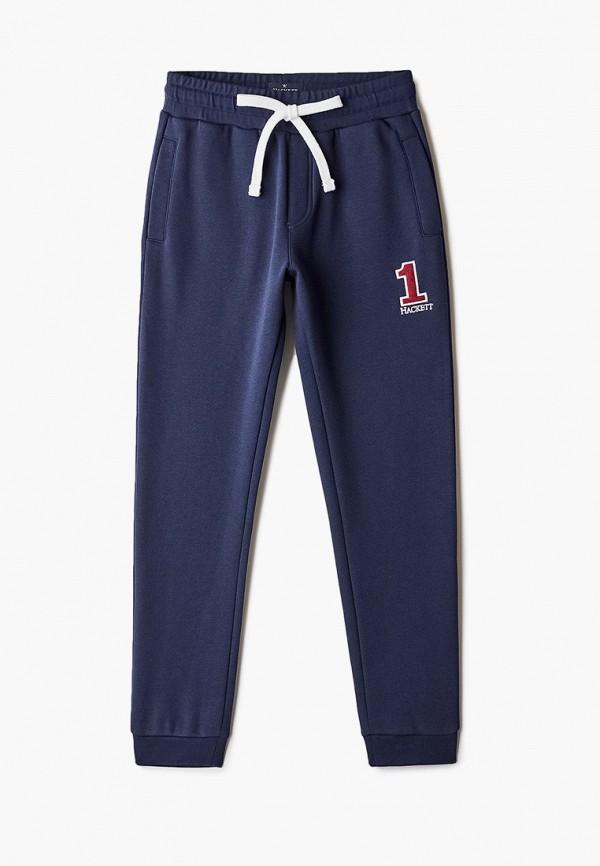 спортивные брюки hackett london для мальчика, синие