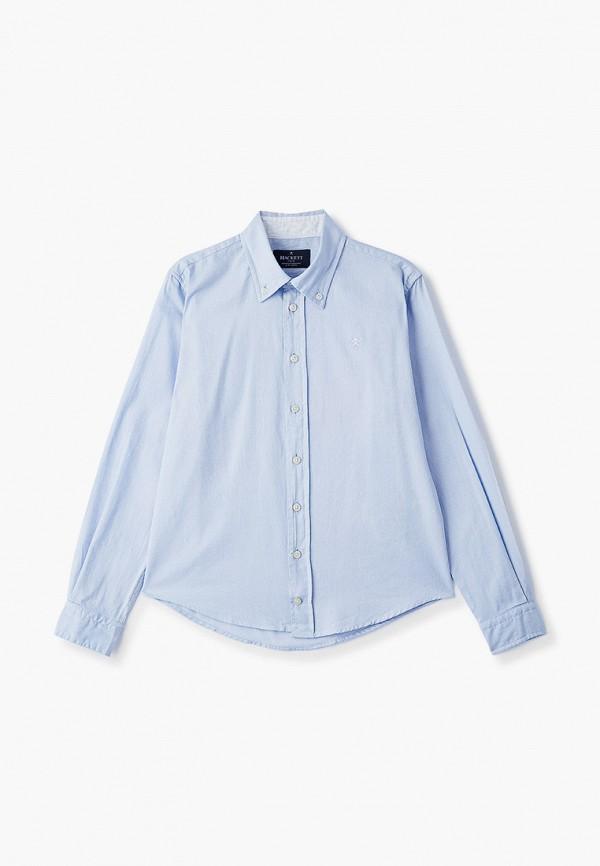 рубашка hackett london для мальчика, голубая