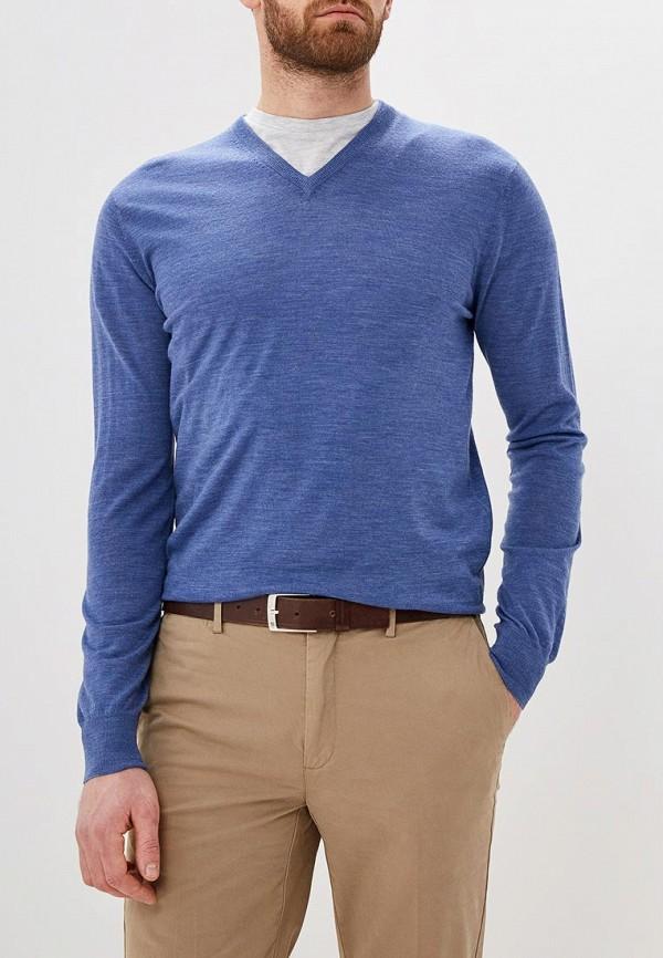 Фото - Мужской пуловер Hackett London синего цвета