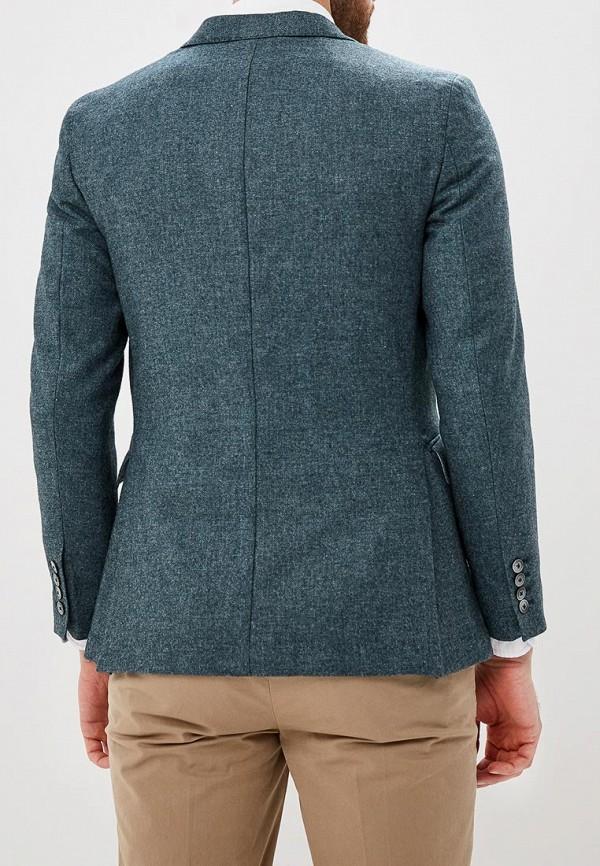 Фото 3 - Мужской пиджак Hackett London серого цвета