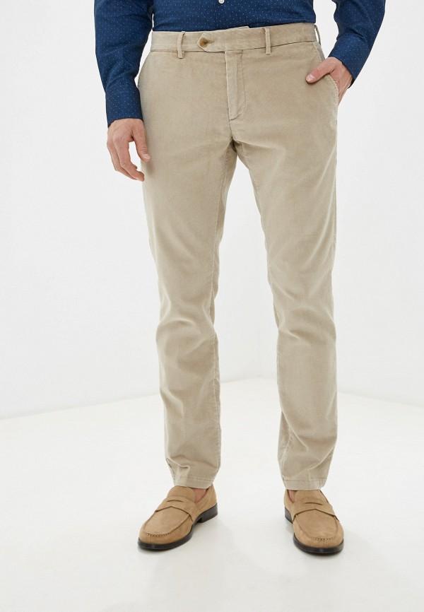 мужские повседневные брюки hackett london, бежевые