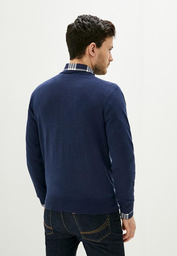 Фото 4 - Мужское джемпер Hackett London синего цвета