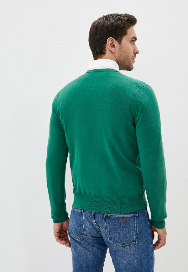 Фото 4 - Мужское джемпер Hackett London зеленого цвета