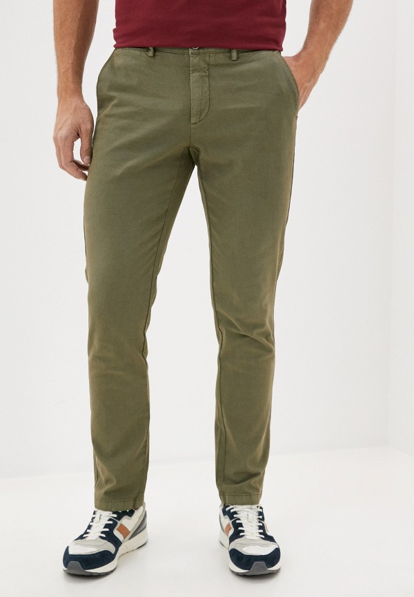 мужские повседневные брюки hackett london, хаки