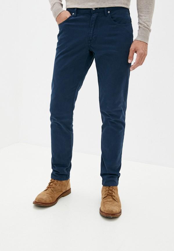 мужские повседневные брюки hackett london, синие