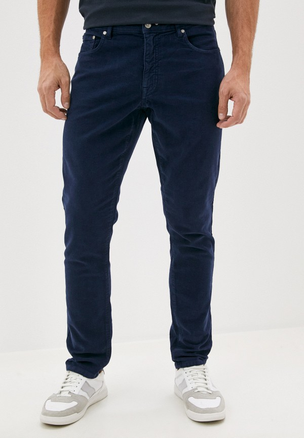 мужские брюки hackett london, синие