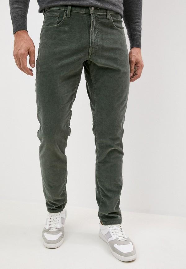 мужские повседневные брюки hackett london, зеленые