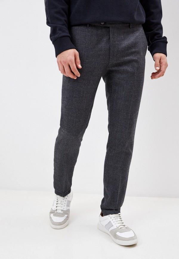 мужские классические брюки hackett london, серые