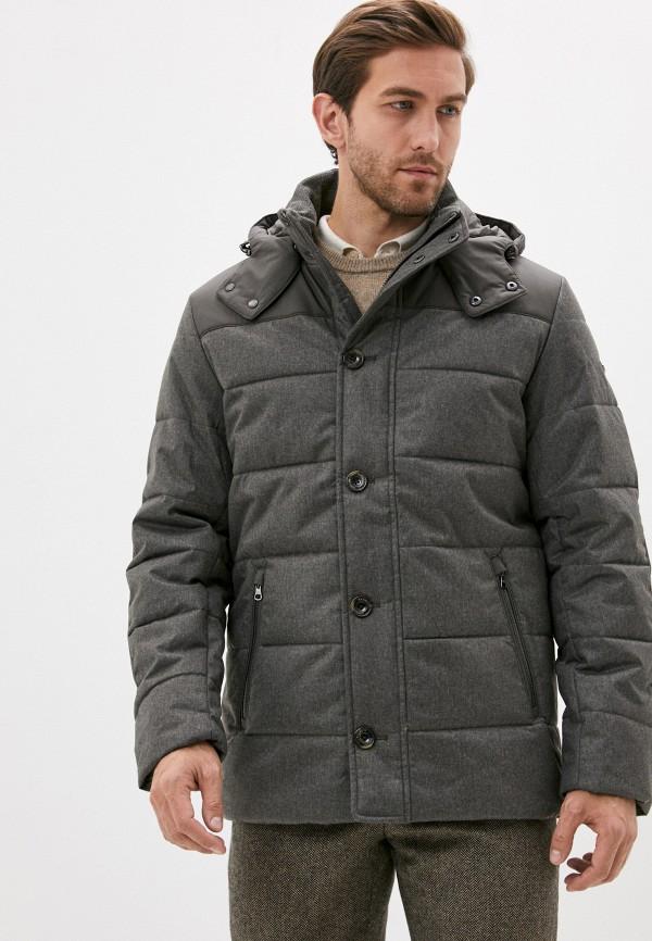 мужская куртка hackett london, коричневая