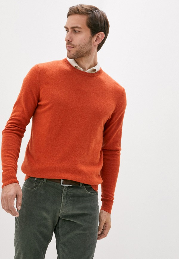 мужской джемпер hackett london, оранжевый