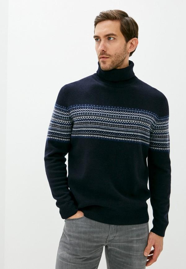 мужской свитер hackett london, синий