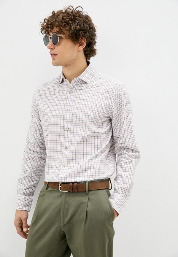 мужская рубашка с длинным рукавом hackett london, разноцветная