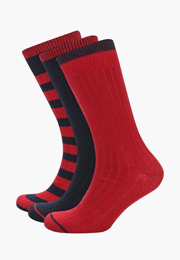 Носки  бордовый, синий цвета