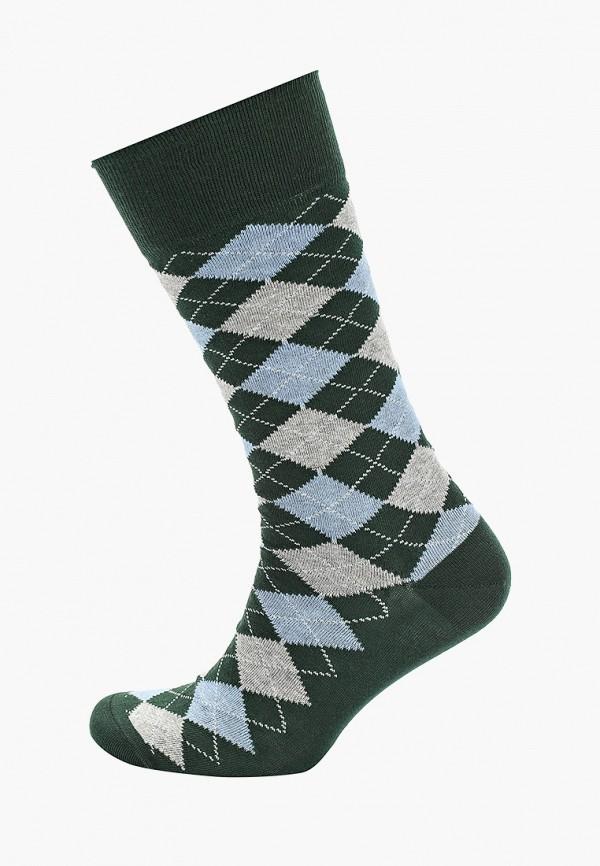 Фото - Мужские носки Hackett London зеленого цвета