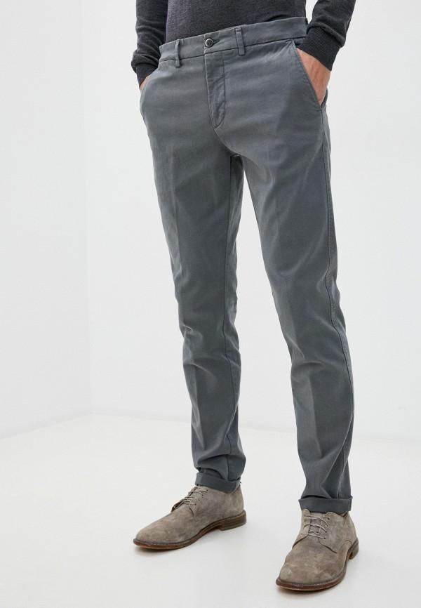 мужские повседневные брюки harmont & blaine, серые