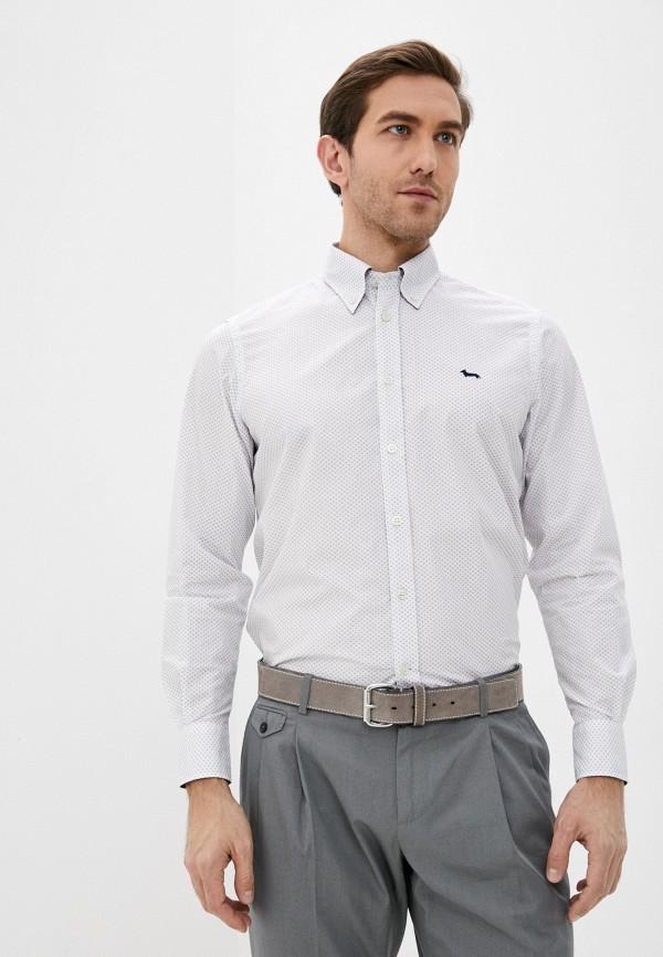 мужская рубашка с длинным рукавом harmont & blaine, белая