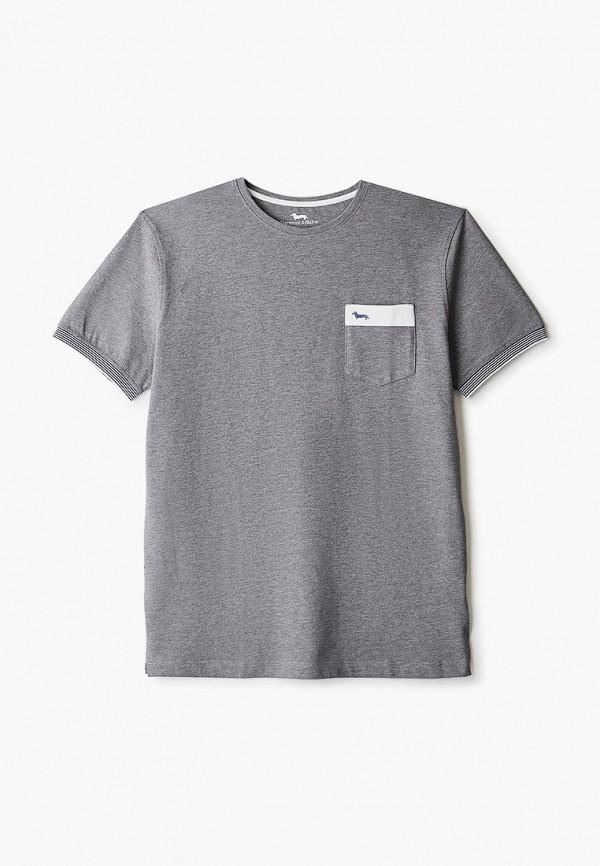 мужская футболка harmont & blaine, серая