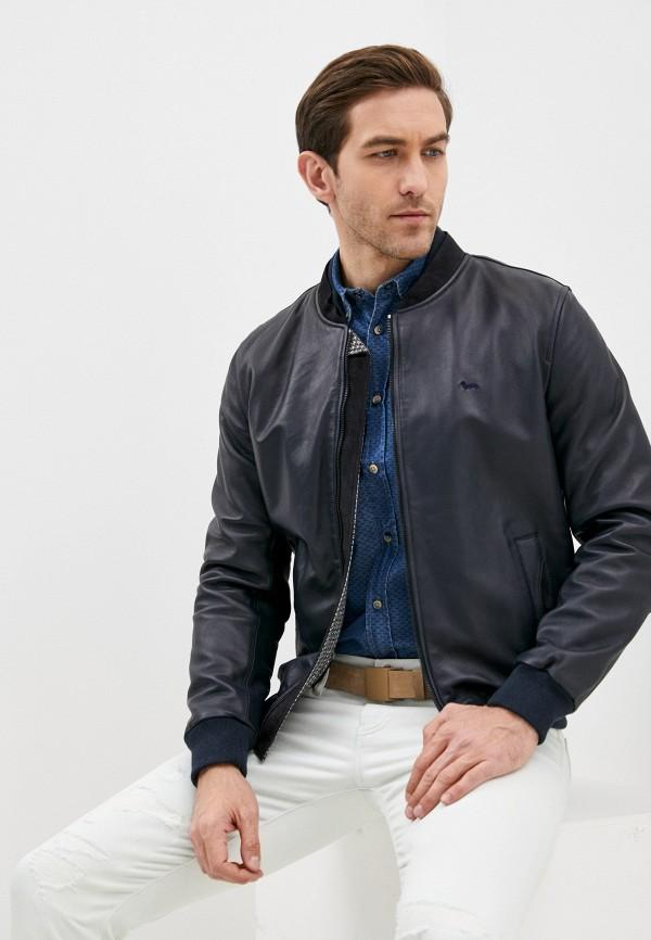 мужская куртка harmont & blaine, синяя