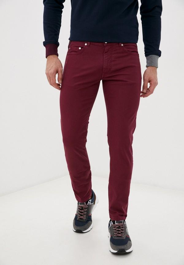 мужские повседневные брюки harmont & blaine, бордовые
