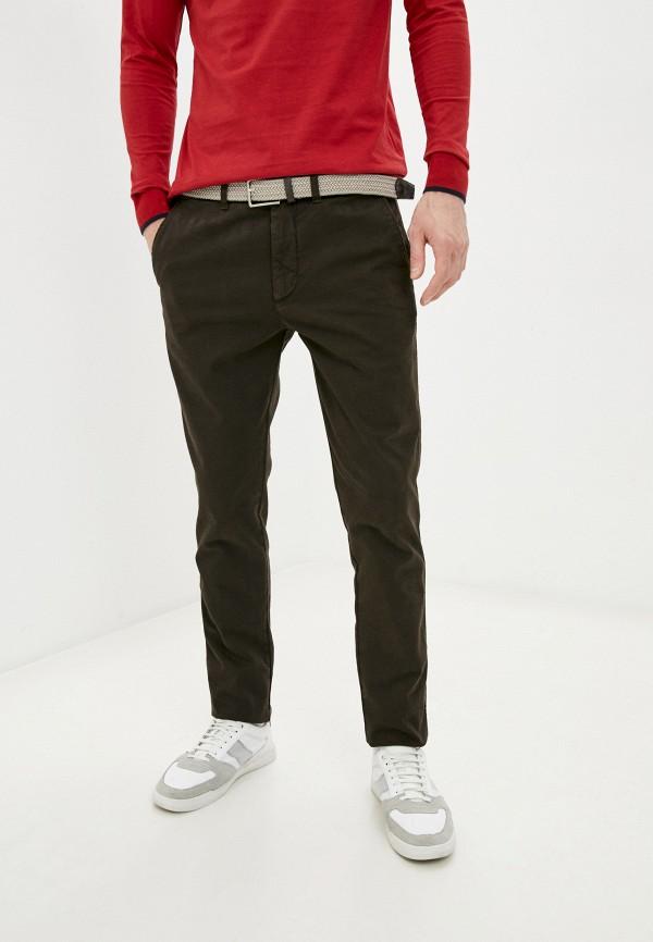 мужские повседневные брюки harmont & blaine, коричневые