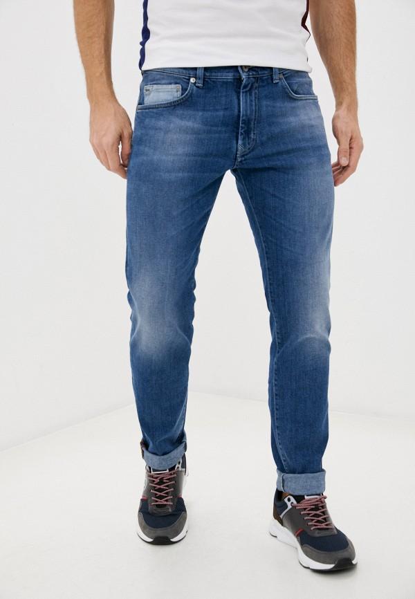 мужские зауженные джинсы harmont & blaine, синие