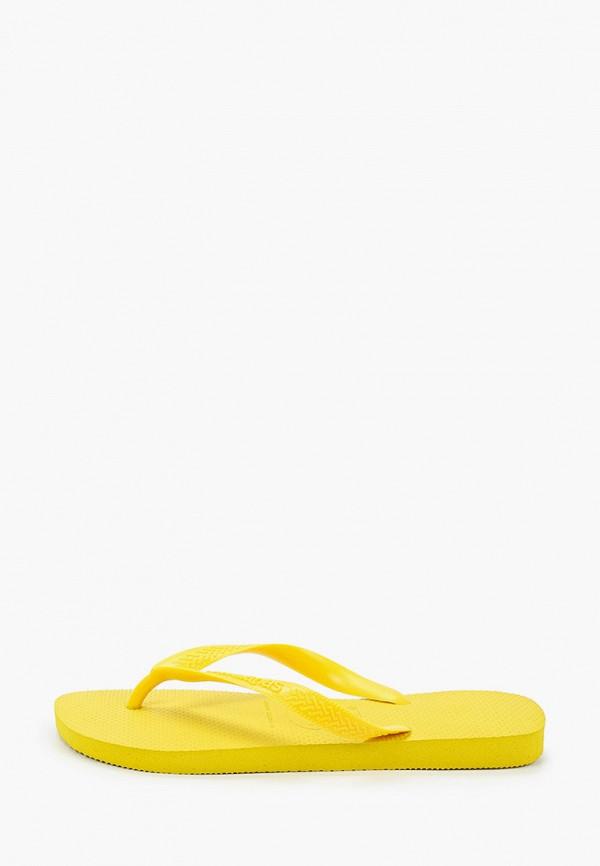 мужские сланцы havaianas, желтые